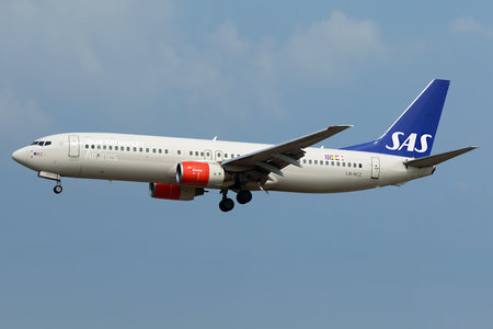 Boeing 737-800 - LN-RCZ operated by Scandinavian Airlines (SAS)
