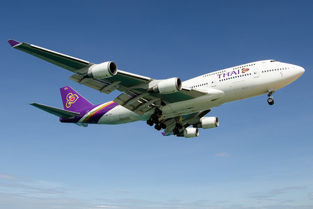 Boeing 747-400 - HS-TGX operated by Thai Airways