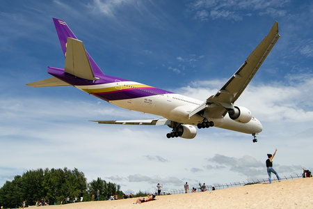 Boeing 777-300ER - HS-TKK operated by Thai Airways