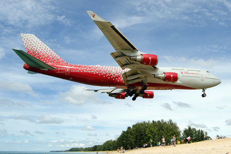 Boeing 747-400 - EI-XLJ operated by Rossiya Airlines