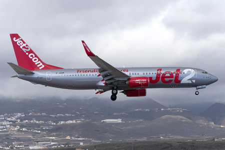 Boeing 737-800 - G-JZBM operated by Jet2