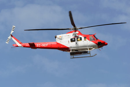 Bell 412HP - EC-NDF operated by Pegasus Offshore