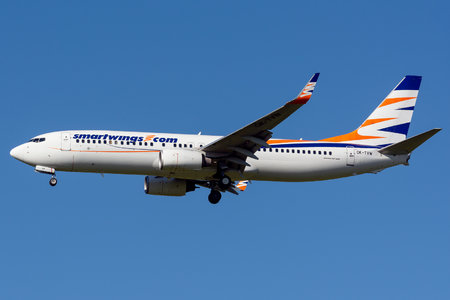 Boeing 737-800 - OK-TVW operated by Smart Wings
