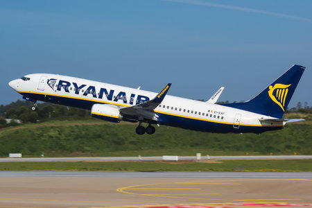 Boeing 737-800 - EI-EXF operated by Ryanair