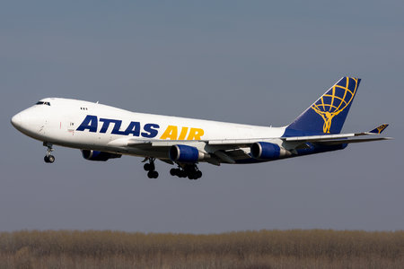 Boeing 747-400F - N499MC operated by Atlas Air
