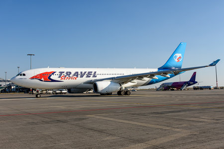 Airbus A330-243 - OK-GBB operated by Travel Service