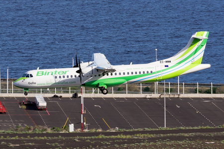 ATR 72-600 - EC-MMM operated by Binter Canarias