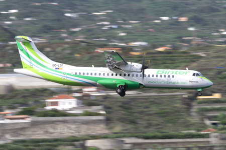 ATR 72-212A - EC-LGF operated by Binter Canarias