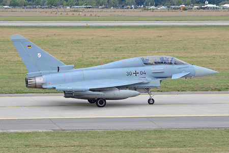 Eurofighter Typhoon T - 30+04 operated by Luftwaffe (German Air Force)