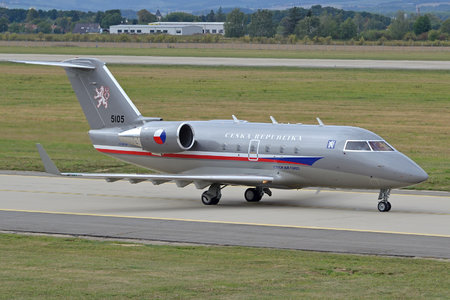 Bombardier Challenger 601-3A (CL-600-2B16) - 5105 operated by Vzdušné síly AČR (Czech Air Force)