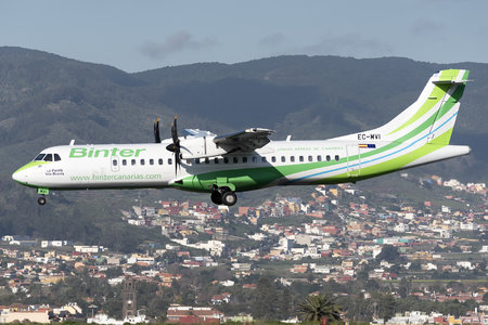 ATR 72-600 - EC-MVI operated by Binter Canarias