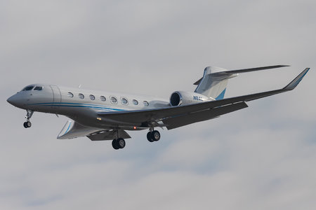 Gulfstream G650ER - N8AL operated by Private operator