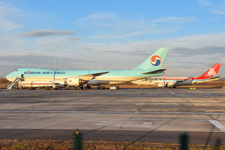 Boeing 747-8F - HL7629 operated by Korean Air Cargo