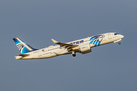 Airbus A220-300 - SU-GFB operated by EgyptAir