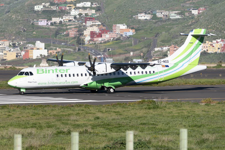 ATR 72-600 - EC-NGG operated by Binter Canarias