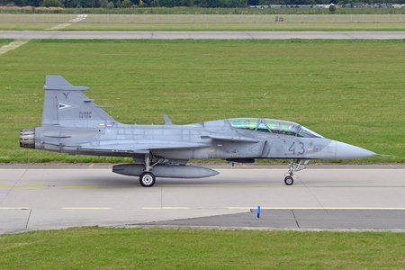 Saab JAS 39D Gripen - 43 operated by Magyar Légierő (Hungarian Air Force)