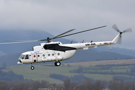 Mil Mi-8MTV - OM-AVA operated by UTair Europe