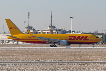 Boeing 767-300F - G-DHLE operated by DHL Air