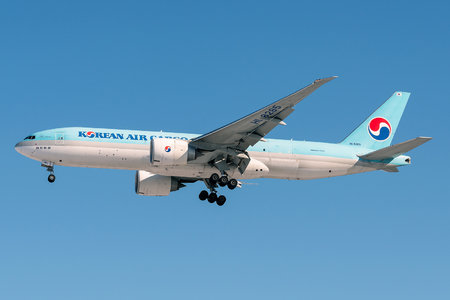 Boeing 777F - HL8285 operated by Korean Air Cargo
