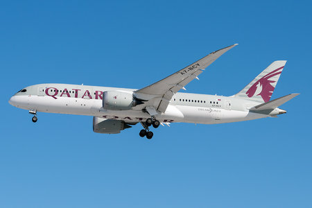 Boeing 787-8 Dreamliner - A7-BCY operated by Qatar Airways