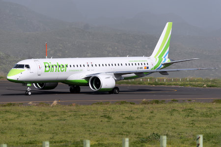 Embraer E195-E2 (ERJ-190-400STD) - EC-NFA operated by Binter Canarias