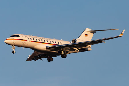 Bombardier Global 6000 (BD-700-1A10) - 14+07 operated by Luftwaffe (German Air Force)