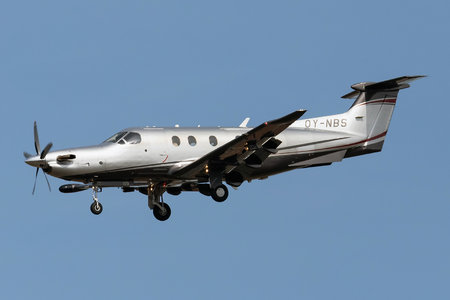 Pilatus PC-12/47E - OY-NBS operated by Private operator