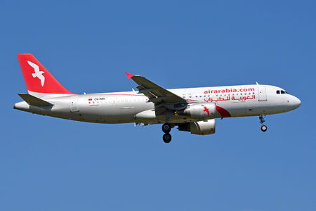 Airbus A320-214 - CN-NMI operated by Air Arabia Maroc