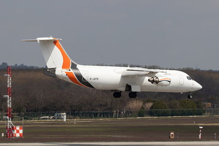 British Aerospace BAe 146-300QT - G-JOTE operated by Jota Aviation
