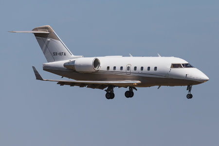 Bombardier Challenger 604 (CL-600-2B16) - SX-KFA operated by GainJet Ireland