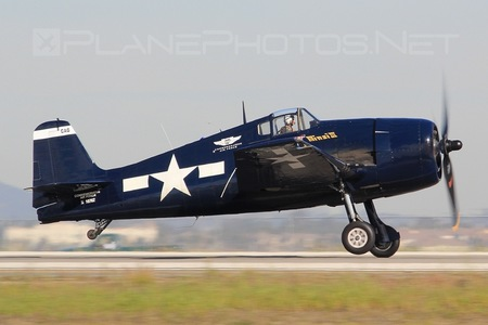 Grumman F6F-5 Hellcat - N1078Z operated by Private operator