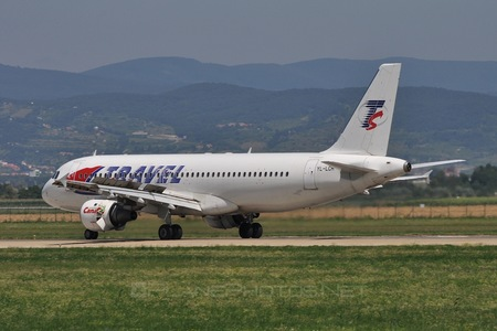 Airbus A320-211 - YL-LCA operated by Travel Service