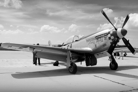 North American P-51D Mustang - F-AZSB operated by Private operator