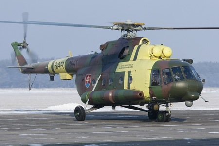 Mil Mi-17LPZS - 0841 operated by Vzdušné sily OS SR (Slovak Air Force)