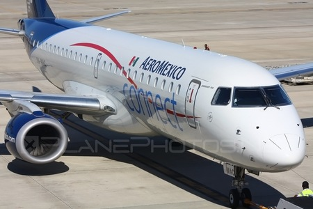 Embraer 190-100IGW - XA-MAC operated by Aeroméxico Connect