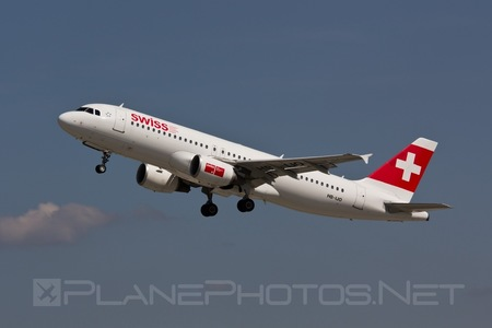 Airbus A320-214 - HB-IJO operated by Swiss International Air Lines