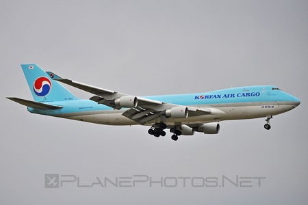 Boeing 747-400F - HL7439 operated by Korean Air Cargo