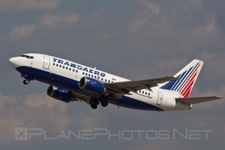 Boeing 737-500 - VP-BYI operated by Transaero Airlines