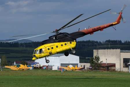 Mil Mi-8T - OM-AVP operated by UTair Europe