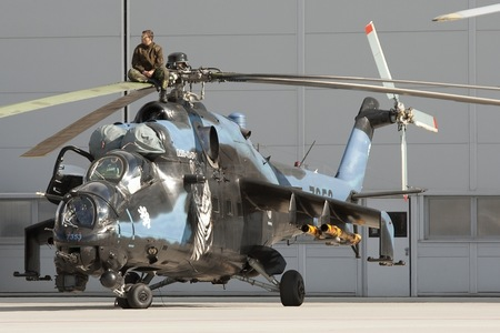 Mil Mi-24V - 7353 operated by Vzdušné síly AČR (Czech Air Force)