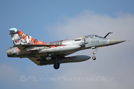 Dassault Mirage 2000C - 91 operated by Armée de l´Air (French Air Force)