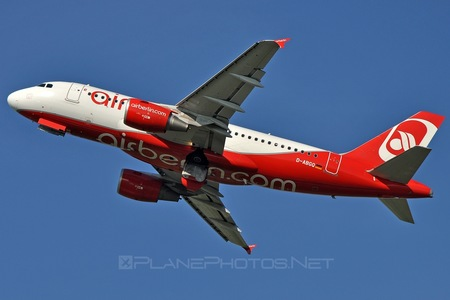 Airbus A319-112 - D-ABGQ operated by Air Berlin