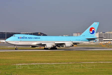 Boeing 747-400ERF - HL7499 operated by Korean Air Cargo