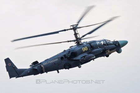 Kamov Ka-52 Alligator - 98 operated by Voyenno-vozdushnye sily Rossii (Russian Air Force)