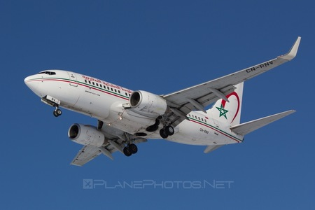 Boeing 737-700 - CN-RNV operated by Royal Air Maroc (RAM)