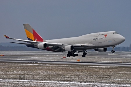 Boeing 747-400BDSF - HL7417 operated by Asiana Cargo