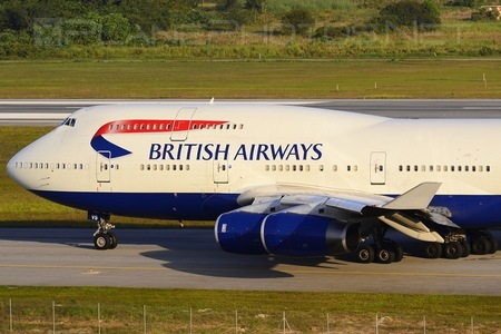 Boeing 747-400 - G-CIVS operated by British Airways