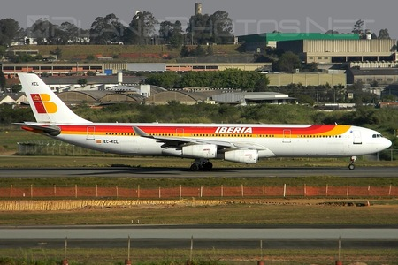 Airbus A340-311 - EC-KCL operated by Iberia