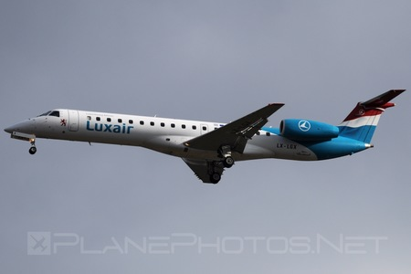 Embraer ERJ-145LU - LX-LGX operated by Luxair
