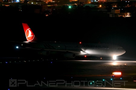 Airbus A340-313E - TC-JIH operated by Turkish Airlines